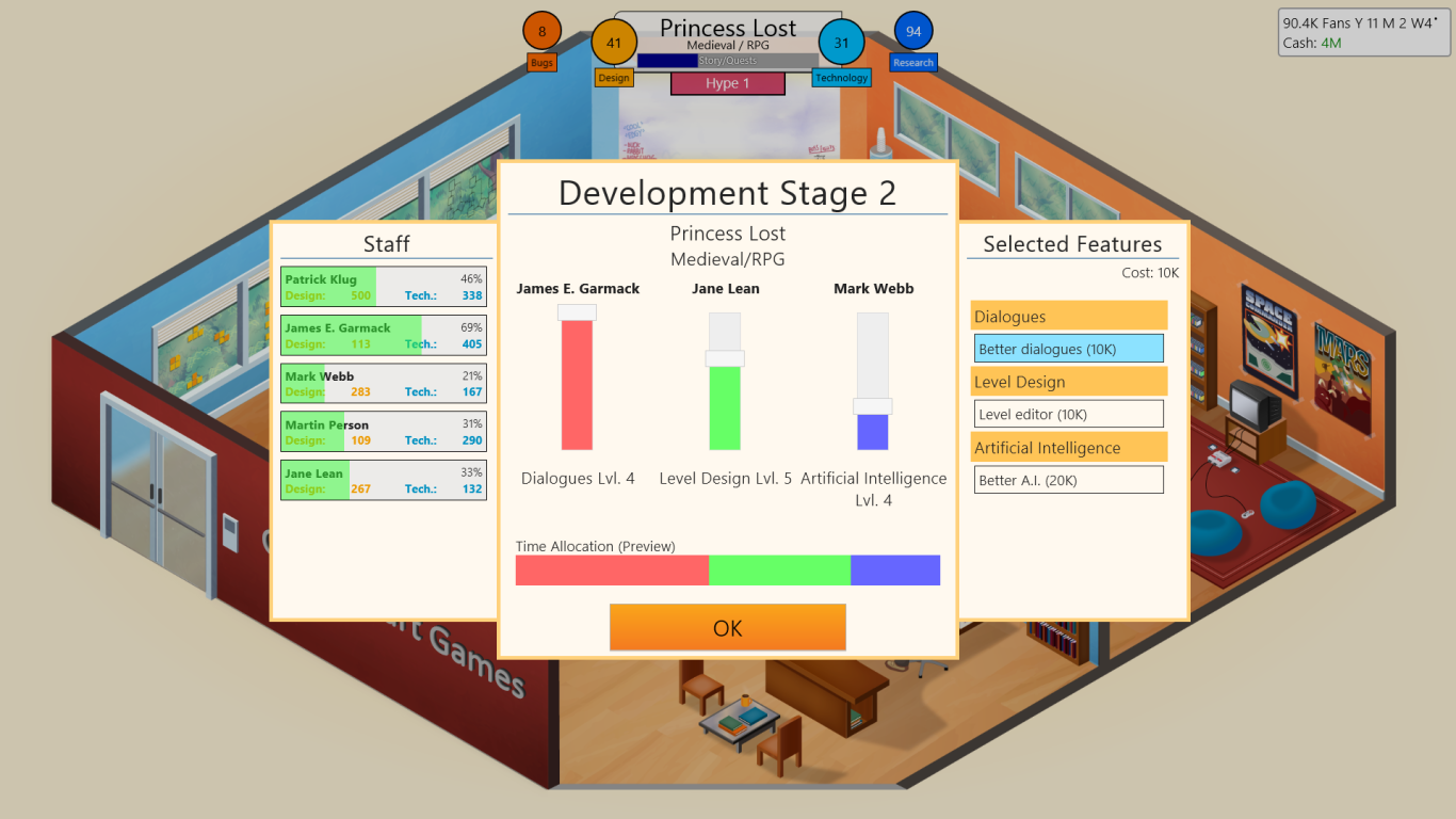 Game Dev Tycoon Slider Image